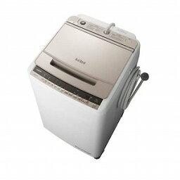 日立 全自動洗濯機 「<strong>ビートウォッシュ</strong>」 [洗濯10.0kg/インバーターモーター搭載] BW−V100E−N シャンパン(標準設置無料)