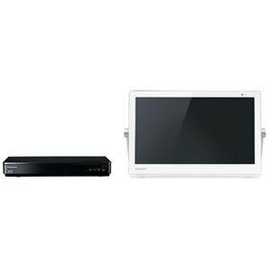 パナソニック Panasonic 15V型ポータブルテレビ[HDD&BDドライブ内蔵/防水対応]プライベートビエラ UN−15CTD9−W ホワイト