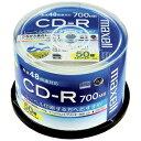 マクセル データ用CD−R(48倍速対応/700MB)50枚スピンドルケース CDR700S.WP.50SP