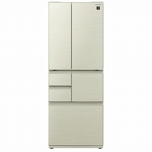 シャープ SHARP 6ドア 冷蔵庫(502L・フレンチドア) SJ−F501F−N ゴールド(標準設置無料)