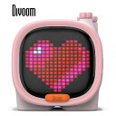 トーン ブルートゥーススピーカー Divoom - TIMOO 90100058119 ピンク [Bluetooth対応]