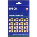 EPSON ミニフォトシール(ハガキサイズ/16分割)5枚 MJHSP5
