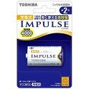 東芝 充電池(単2形1本入)「充電式IMPULSE」 TNH‐2A