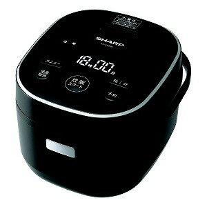 シャープ SHARP 炊飯器[3合/マイコン] KS−CF05B−B ブラック系