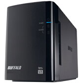 バッファロー USB3.0用 外付けHDD 2ドライブモデル 「2TB」 HD‐WL2TU3/R1J【送料無料】
