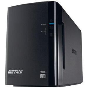 バッファロー USB3.0用 外付けHDD 2ドライブモデル 「4TB」 HD−WL4TU3/R1J【送料無料】