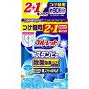 小林製薬 ブルーレットスタンピー除菌効果プラス替フレッシュコットン28g3本 ブルーレットスタンピー BLスタンピージョキンコウカプラス