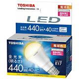 東芝 LED電球(440lm・電球色) LDA6LHE17S