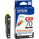 EPSON インクカートリッジ ICBK70  (ブラック)