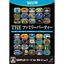 [point double] Dis Lee パブリッシャー Wii U software SIMPLE series for Wii U Vol. 1 THE family party