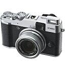 富士フィルム デジタルカメラ「FUJIFILM X20」 F FX?X20S(シルバー)【送料無料】