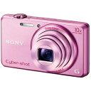 ソニー デジタルスチルカメラ Cyber?shotサイバーショット DSC?WX200(P) ピンク【送料無料】