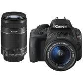 Canon 一眼レフカメラ「EOS Kiss X7」 EOS Kiss X7・ダブルズームキット【送料無料】