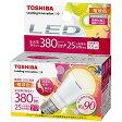 ショッピングLED 東芝 LED電球(380lm・電球色)「E−CORE(イー・コア)」【小形電球タイプ】 LDA6L−D−H−E17/S