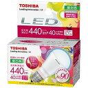 東芝 LED電球(440lm・昼白色)「E−CORE(イー・コア)」「小形電球タイプ」 LDA6N‐D‐H‐E17/S