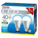 東芝 LED電球 「E−CORE」昼白色2個入 LDA6N−H−2P