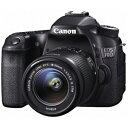 Canon 一眼レフカメラ「EOS 70D」 EOS 70D(W)・EF−S18−55 IS STM レンズキット(送料無料)