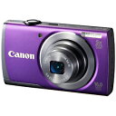 Canon デジタルカメラ「PowerShot」 PowerShot A3500 IS(PR)<パープル>【送料無料】