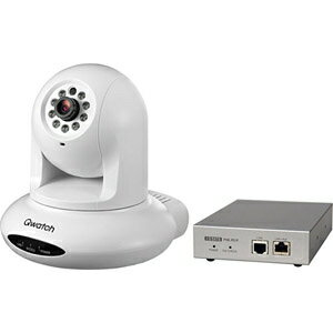 I・O・DATA ネットワークカメラ Qwatch(クウォッチ)PoEインジェクター付属モデル TS‐PTCAM/POE【送料無料】