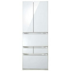 東芝 6ドア冷蔵庫(510L・フレンチドア)「VEGETA(ベジータ)」 GR−G51FXV(ZW)<クリアシェルホワイト>【標準設置無料】