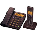 シャープ デジタルフルコードレス電話機(子機1台) JD‐G55CLT (ブラウン系)【送料無料】