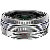 オリンパス 交換レンズ「M.ZUIKO DIGITAL ED 14?42mm F3.5?5.6 EZ」 ED1442MMF3.55.6EZ <シルバー>【】