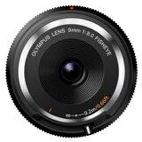 オリンパス フィッシュアイボディーキャップレンズ(9mm F8.0 Fisheye) BCL?0980 <ブラック>【】