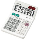 シャープ ミニナイスサイズタイプ電卓 (10桁) EL‐771J‐X