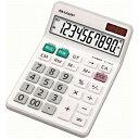 シャープ ナイスサイズタイプ電卓 (10桁) EL‐N431‐X