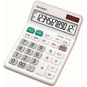 シャープ ナイスサイズタイプ電卓 (12桁) EL‐N432‐X
