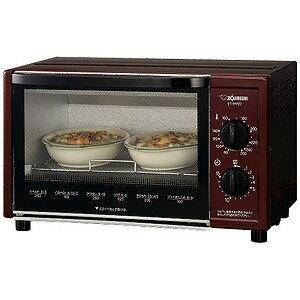 オーブン トースター メタリックレッド