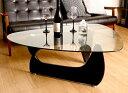 センターテーブル ローテーブル ガラス ブラック 黒