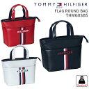 トミーヒルフィガーゴルフ ラウンドバッグFLAG ROUND BAG THMG0SB5フラッグ ラウンドバッグ2020SS TOMMY HILFIGER GOLFファスナートート ミニトートギフト プレゼント