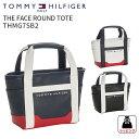 トミーヒルフィガーゴルフ ラウンドトートフェースラウンドトートバックTHE FACE ROUND TOTE BAG THMG7SB2TOMMY HILFIGER GOLF ミニトートバック 合皮 鞄ギフト プレゼント