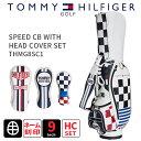 キャディバッグ トミーヒルフィガーTOMMY HILFIGER GOLF THMG8SC12018年...
