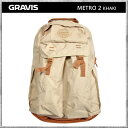 Gravis/グラビス リュック バッグ METRO 2 KHAKI メトロ2 カーキ ガンメタル デイパック バックパック カバン