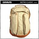 Gravis/グラビス リュック バッグ METRO CLASSIC KHAKI メトロクラシック カーキ デイパック バックパック カバン