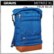 Gravis/グラビス バッグ[METRO2 XL] TRUE BLUE[グラビス][メトロ2][バッグ][デイパック][バックパック]