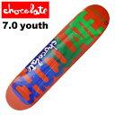 CHOCOLATE/チョコレート スケートボード デッキ スケボー FLYER M.ジョンソン 7.0 CHD-519 ジュニア・KIDS P06May16