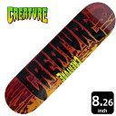 CREATURE/クリエーチャー デッキ スケートボード スケボーREVERSE STAIN MD 8.26 CAD-149