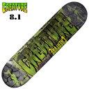 CREATURE/クリエーチャー デッキ スケートボード スケボーINFERNO MD 8.1 CAD-153