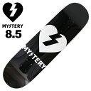 MYSTERY/ミステリー スケートボード デッキ スケボー HEART 8.5 MTD-164-2 ミステリーDVD付