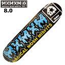 MxMxM MAGICAL MOSH MISFITS TEAM18 DECK 8.0 スケートボード デッキ スケボー スケートボード シューズ