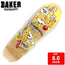 BAKER ベイカー スケートボード デッキ スケボー ROWAN GONZ DECK 8.0 BAD-271