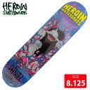 HEROIN ヘロイン デッキ SHIMIZU SHARK DECK 8.125 HRD-005 スケートボード SKATEBOARD