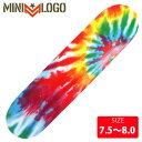 POWELL パウエル MINI LOGO ミニロゴ デッキ REDDOT TIE DYE DECK 7.5-8.0 PWD-005 スケボースケートボード skateboard