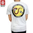 ELEMENT エレメント Tシャツ DICE SS TEE WHH スケート skateboard street tee AH021263 【クエストン】