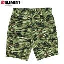 ELEMENT エレメント メンズ ハーフパンツ AF021602 BRN ウォークショーツ ストレッチ 短パン 【クエストン】