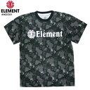 ELEMENT エレメント キッズ Tシャツ HORIZONTAL SS ELITE BOY BLK 130〜160cm AH025301 17SS SKATE スケーター 【クエストン】