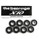 スケボー スケートボード ベアリング HELLO ハロー THE BEARING ザ ベアリング X10 OIL TYPE GLB006